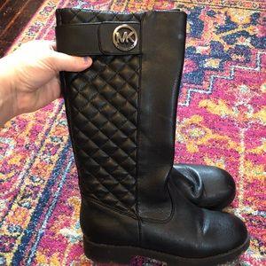 Michael Kors black riding boots 4